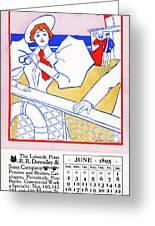 Ad Lakeside Press, 1895 Greeting Card