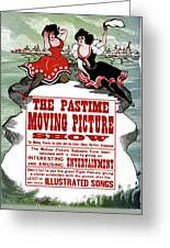 Ad Moving Picture, 1913 Greeting Card