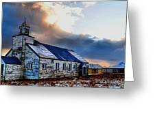 Adak Alaska Church Greeting Card