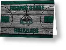 Adams State Grizzlies Greeting Card