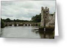 Adare Castle Greeting Card