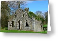 Adare Chapel Ruins Greeting Card