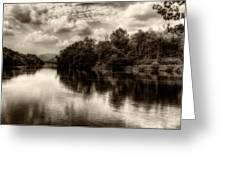 Adda River 2 Greeting Card