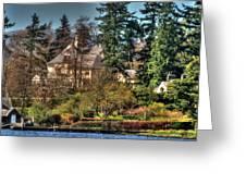Addams Family Hotel Greeting Card