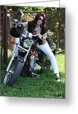 Adel Easy Rider Greeting Card by  Andrzej Goszcz