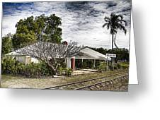 Adelaide River Railway Station Greeting Card