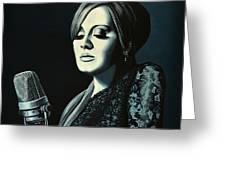 Adele 2 Greeting Card