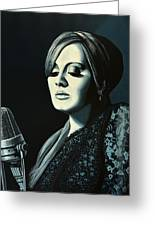 Adele 2 Greeting Card