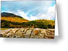 Adirondack Autumn Greeting Card