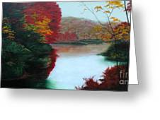 Adirondack Autumn Greeting Card