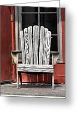 Adirondack Chair Greeting Card