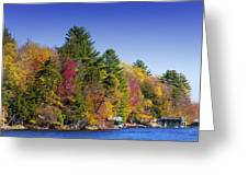 Adirondack Color Ix Greeting Card