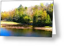 Adirondack Color X Greeting Card