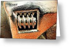 Adjustable Wrench C Greeting Card