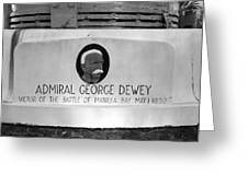 Admiral Dewey Monument Greeting Card