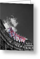 Admiralty Arch London Greeting Card