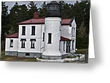 Admiralty Head Lighthouse 2 Greeting Card