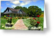 Adobe Alamo Pintado Rideau Vineyards Greeting Card