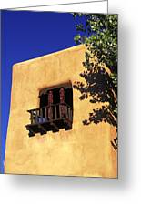 Adobe And Ristras Greeting Card