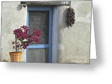 Adobe Home In Ft. Lowell Greeting Card