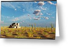 Adobe House Greeting Card