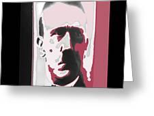 Adolph Hitler Collage Close-up Circa 1933-2009  Greeting Card