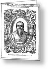 Adrian Willaert (1480-1562) Greeting Card