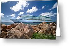 Adventure Of The Seas Greeting Card