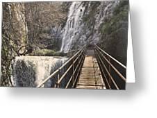 Adventure Retro Bridge Greeting Card