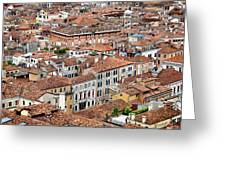 Aerial Of Venice Greeting Card