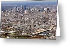 Aerial Philadelphia Greeting Card