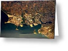 Aerial Photography - Coast Greeting Card