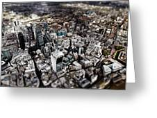 Aerial View Of London 3 Greeting Card