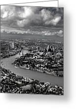 Aerial View Of London 4 Greeting Card