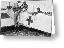 Aero-ambulance Greeting Card