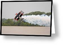 Aerobatic Plane Greeting Card