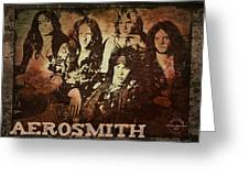 Aerosmith - Back In The Saddle Greeting Card