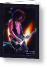 Aerosmith-joe-94-gb26a-fractal Greeting Card