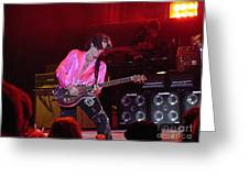 Aerosmith-joe Perry-00151 Greeting Card