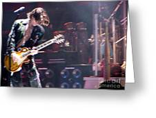 Aerosmith - Joe Perry - Dsc00052 Greeting Card