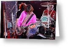 Aerosmith - Joe Perry -dsc00121 Greeting Card