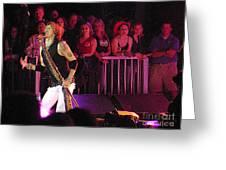 Aerosmith-steven Tyler-00074 Greeting Card