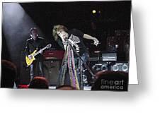 Aerosmith-steven Tyler-00160 Greeting Card