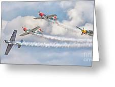 Aerostars Greeting Card