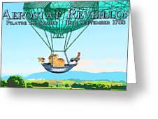 Aerostat Reveillion Greeting Card