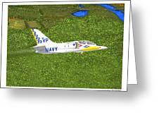 Aerovodochody L39. Greeting Card