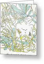 Aesop: Ant & Grasshopper Greeting Card