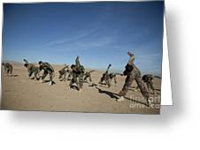 Afghan National Army Commandos Greeting Card