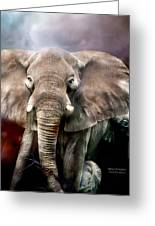 Africa - Protection Greeting Card