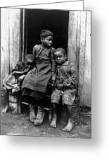 African American Children Greeting Card